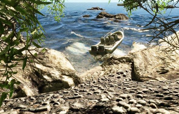 Crysis 2 screenshot beach