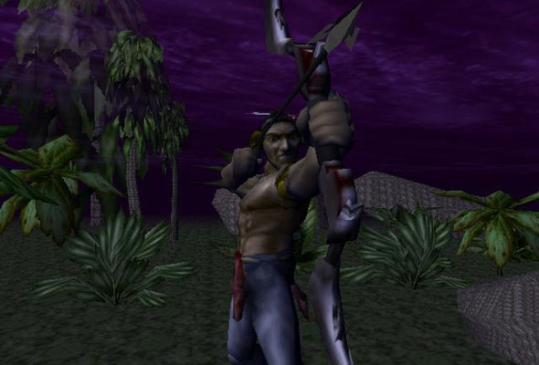 Turok: Dinosaur Hunter Bow and Arrow