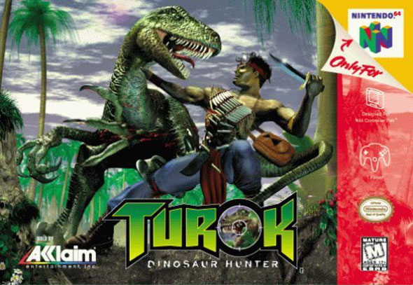 Turok: Dinosaur Hunter box-art