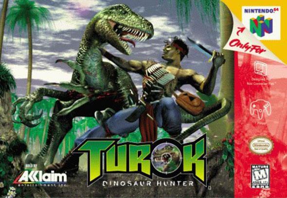 Turok: Dinosaur Hunter box-art