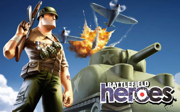 Battlefield Heroes free-to-play