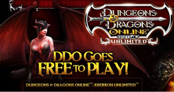 Dungeons and Dragons Online free-to-play