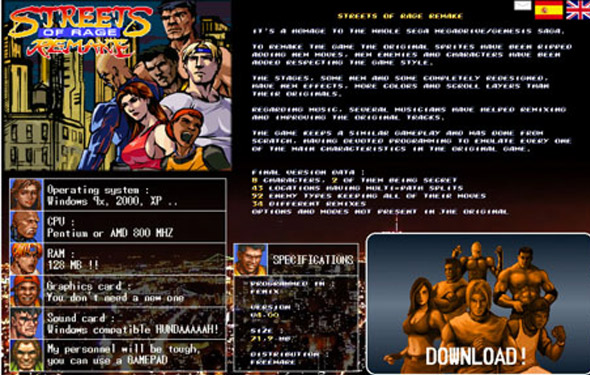 Streets of Rage: Remix