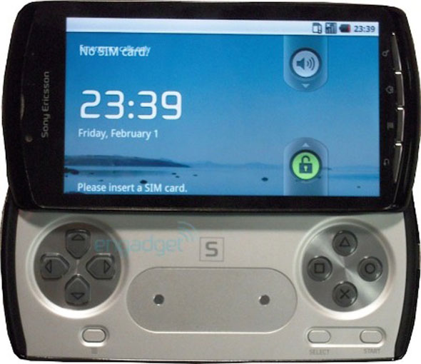 sony playstation phone ericsson with android