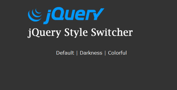 jquery style switcher with preview