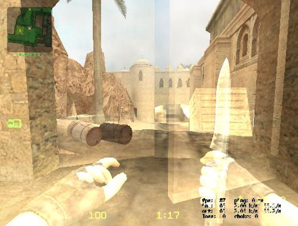 wallhacking counter strike