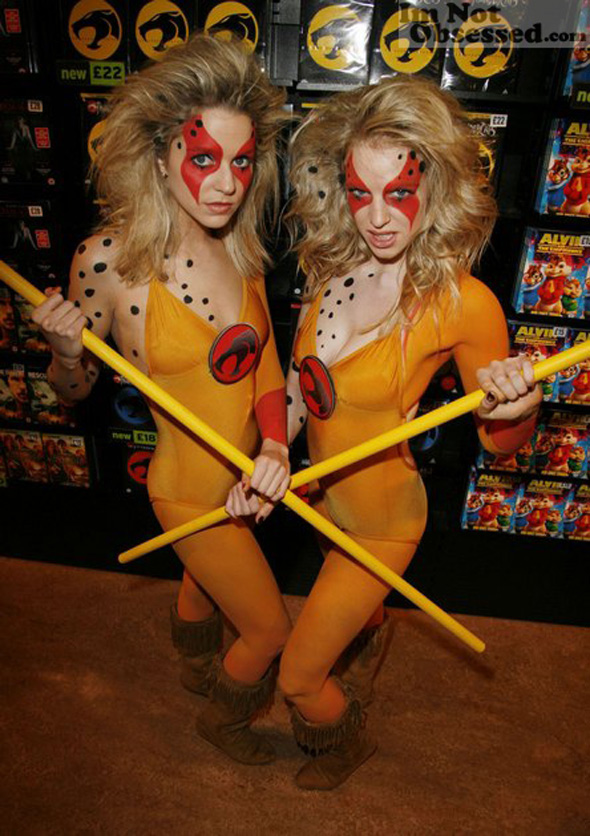 Thundercats real life Cheetaras