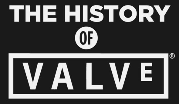 Valve's game history and success. An infographic.