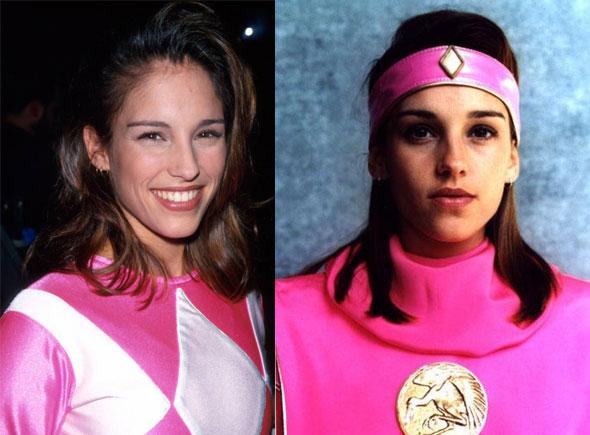 Amy Jo Johnson Pink Ranger