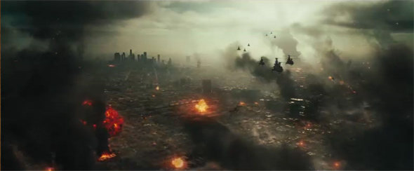 battle los angeles carnage over downtown