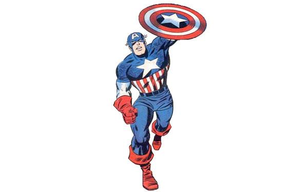 Captain America classic suit
