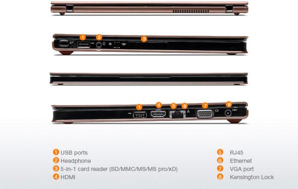 Lenovo IdeaPad U260 features