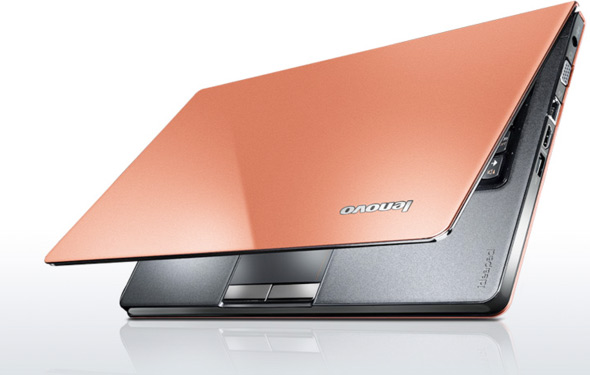 Lenovo IdeaPad U260 laptop in orange