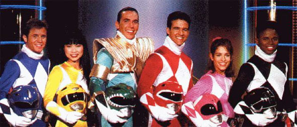 mighty morphin power rangers original