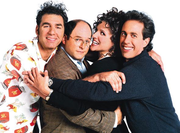Seinfeld kramer george elaine jerry