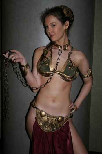 hot slave princess leia