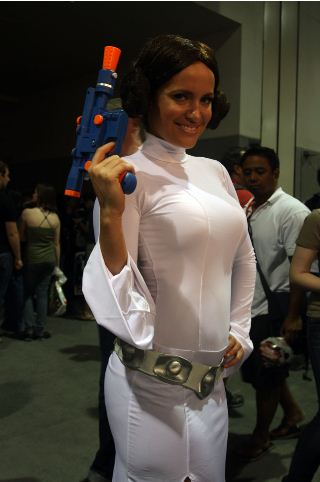 sexy leia a new hope