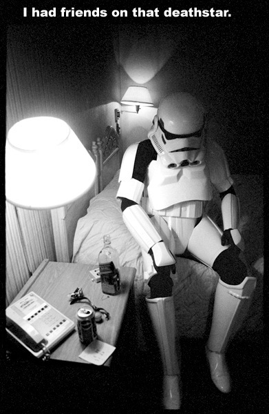 star wars depressed stormtrooper