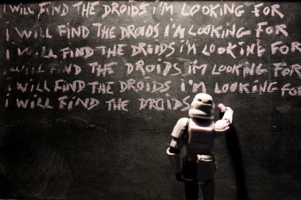 stormtrooper chalk board