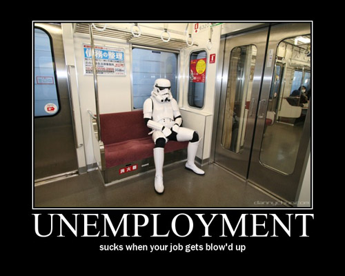 stormtrooper unemployment