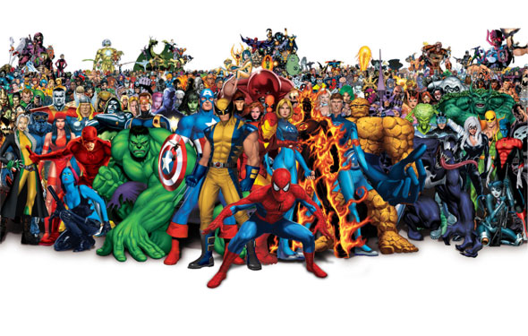 marvel universe the avengers superheroes