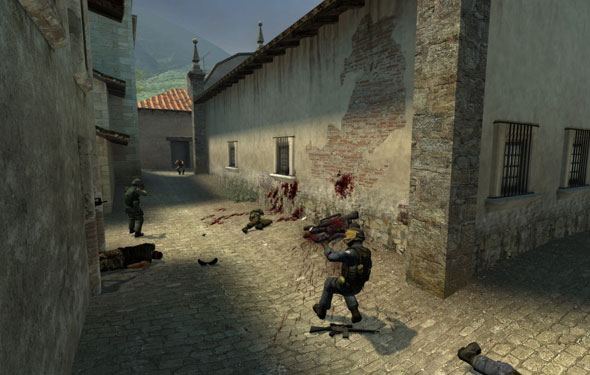 counter strike source shoot out