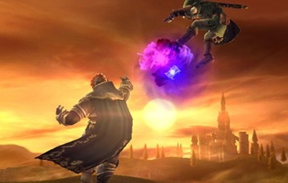 ganon punch super smash bros