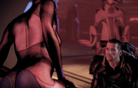 mass effect dancer