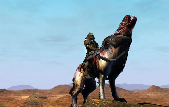 age of conan wolf mount