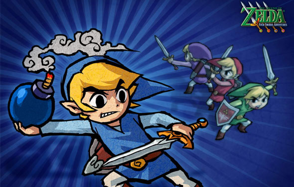 Legend of Zelda: Four Swords now FREE on Nintendo DSiWare shop