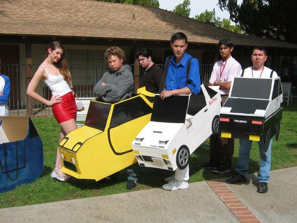 car costumes