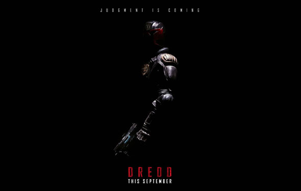 Dredd Preview: Official trailer and thoughts. Also, I AM THE LAW