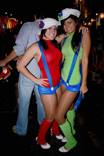 sexy mario sisters costume
