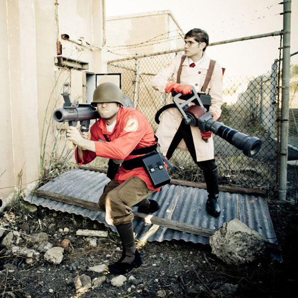 team fortress medic soldier costume
