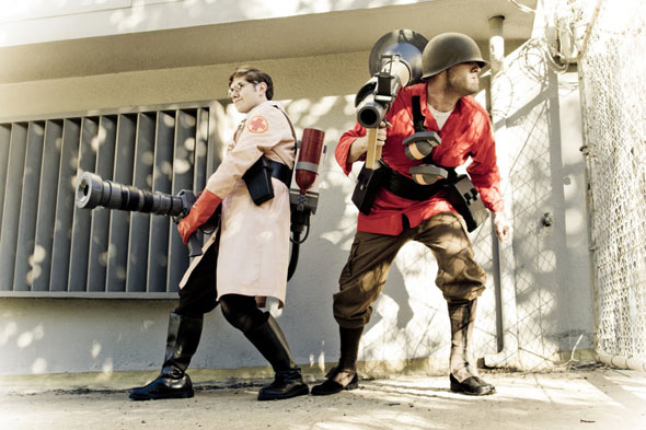 team fortress medic soldier