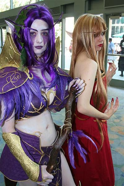 world of warcraft elves cosplay