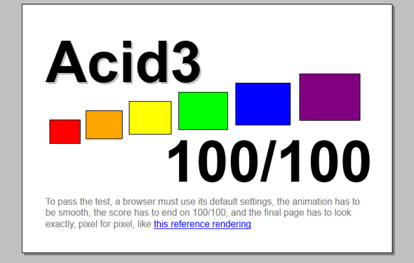 acid3 test firefox