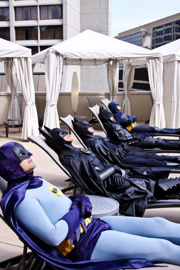 batman tan party