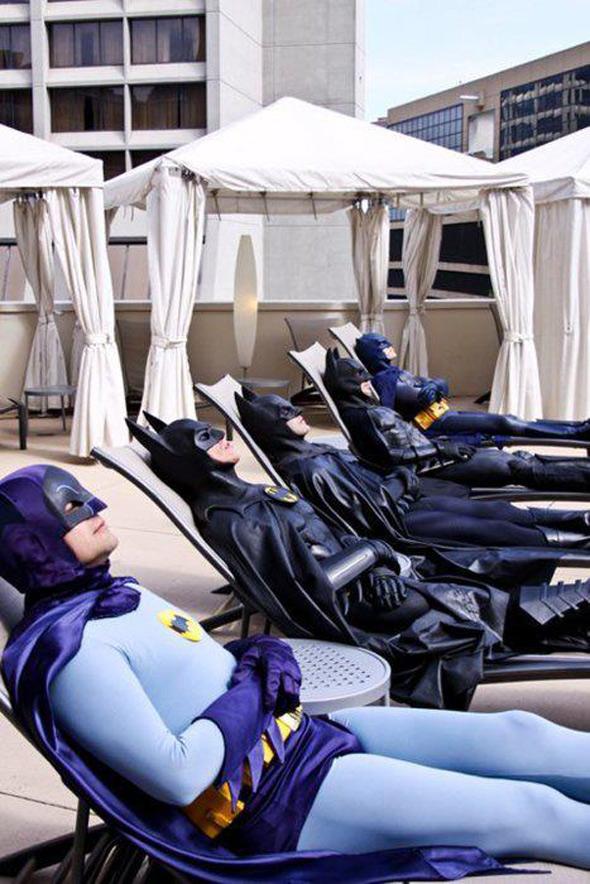 batman tan party