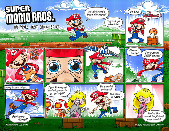 dueling analogs super mario bros untold story