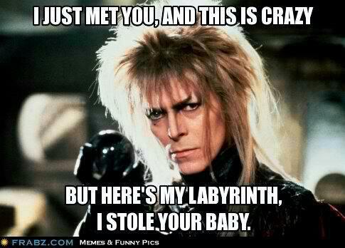 labyrinth bowie