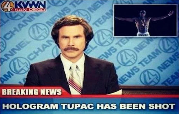 Friday Internet Bulletin: Hologram Tupac has been shot, designing emails for mobile, and Muppets