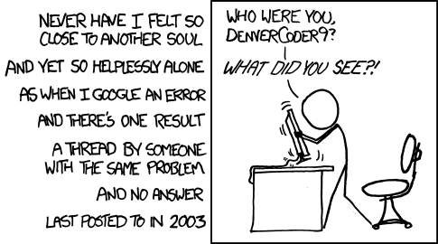 xkcd wisdom of the ancients