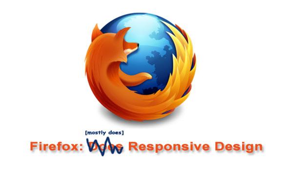 firefox responsive design