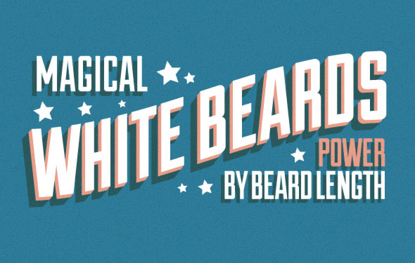When beard length matters: How the longer the beard makes more powerful magic