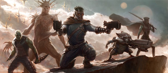 guardians of the galaxy comic con concept