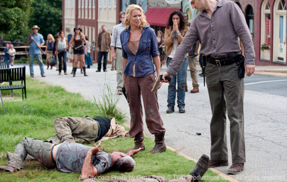 the walking dead andrea and the governor