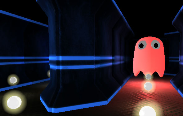 fps man 3d pac man