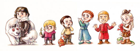game of thrones babies