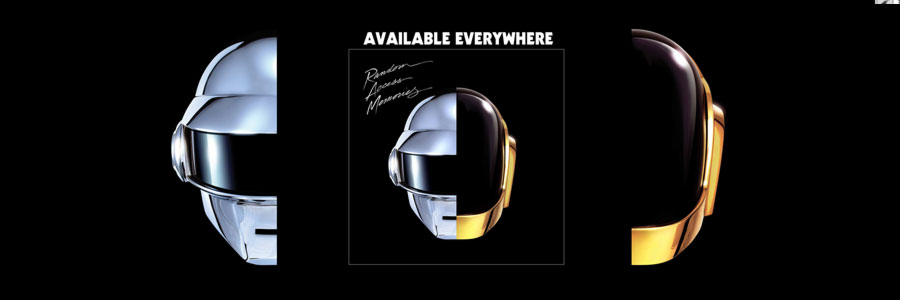 Daft Punk: Random Access Memories. Debuting at #1 like it's easy